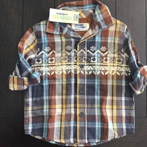 Other - New plaid shirt